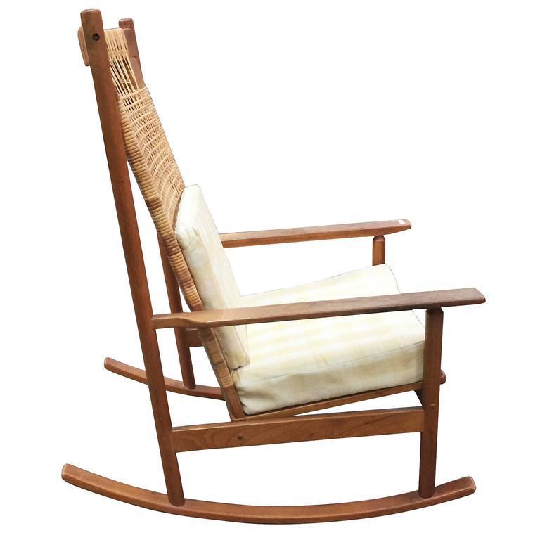 danish modern rocking chair stressless sale chairs by hans olsen for juul kristiansen rare designed in 1958 the
