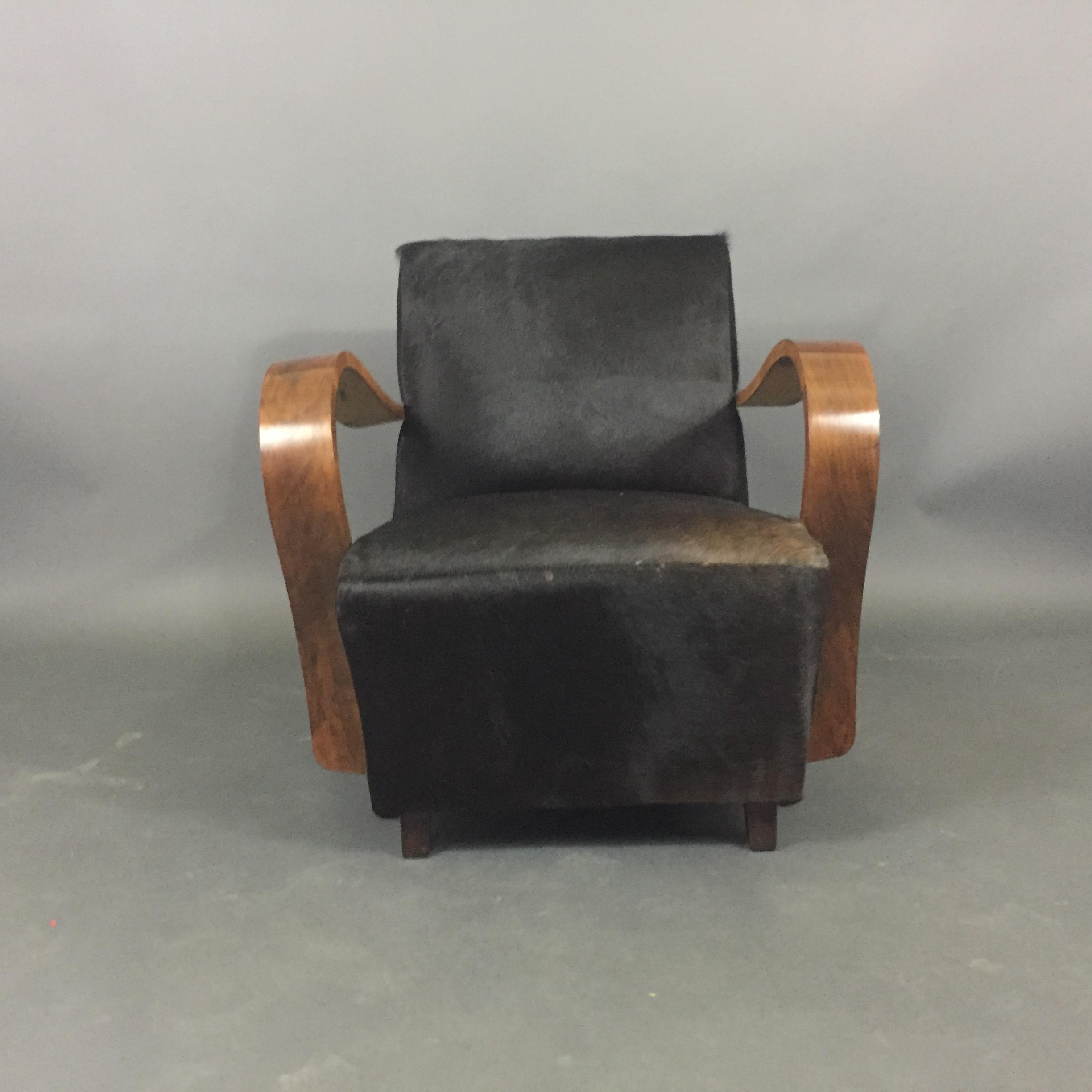 animal skin chair covers for dining chairs exquisite pair of 1930s austrian art deco lounge black hide sale