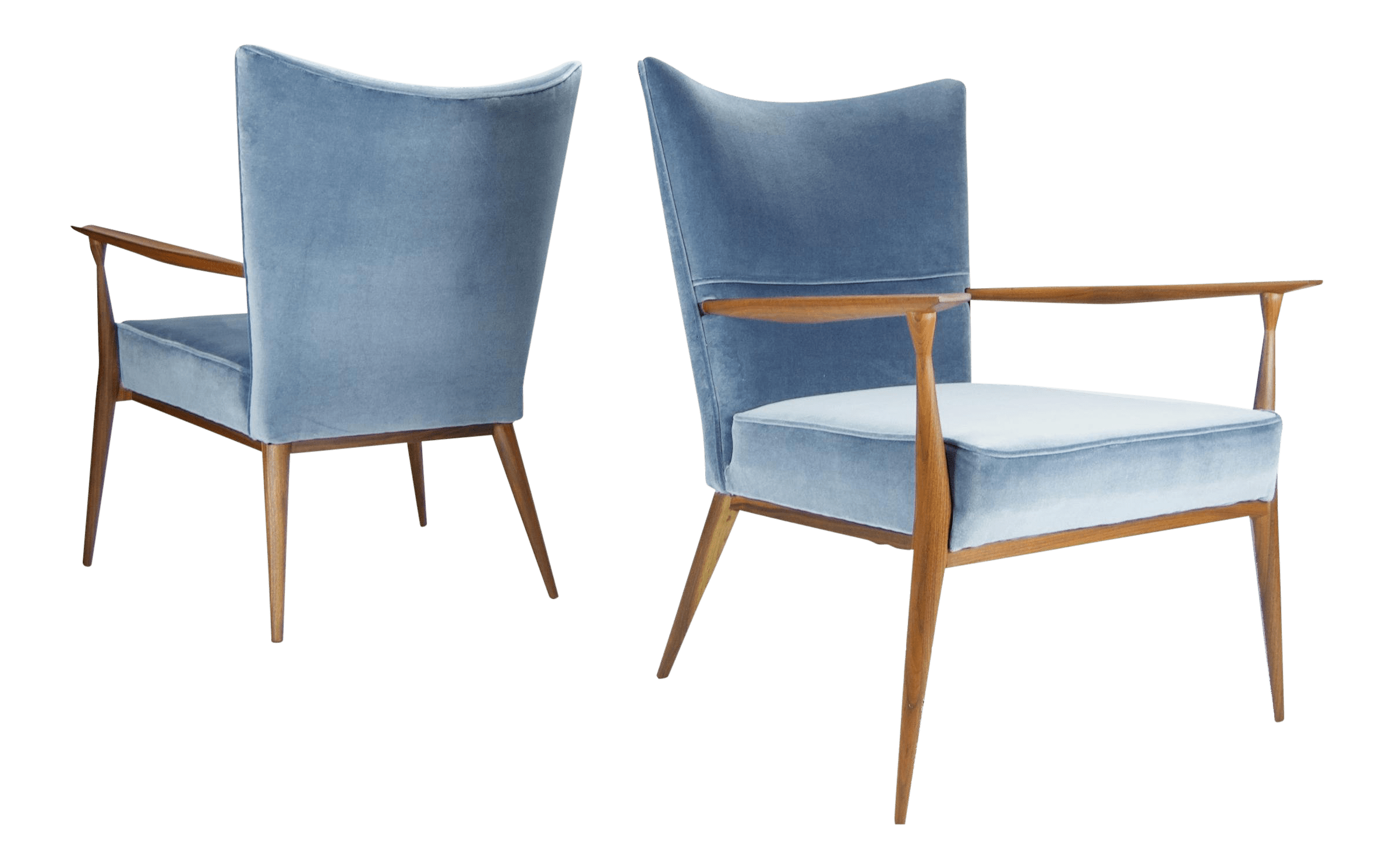 Paul Mccobb Chairs 1950s Vintage Paul Mccobb For Directional Lounge Chairs A Pair