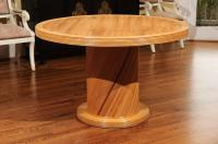 Elegant Circular Center or Dining Table by Bielecky ...