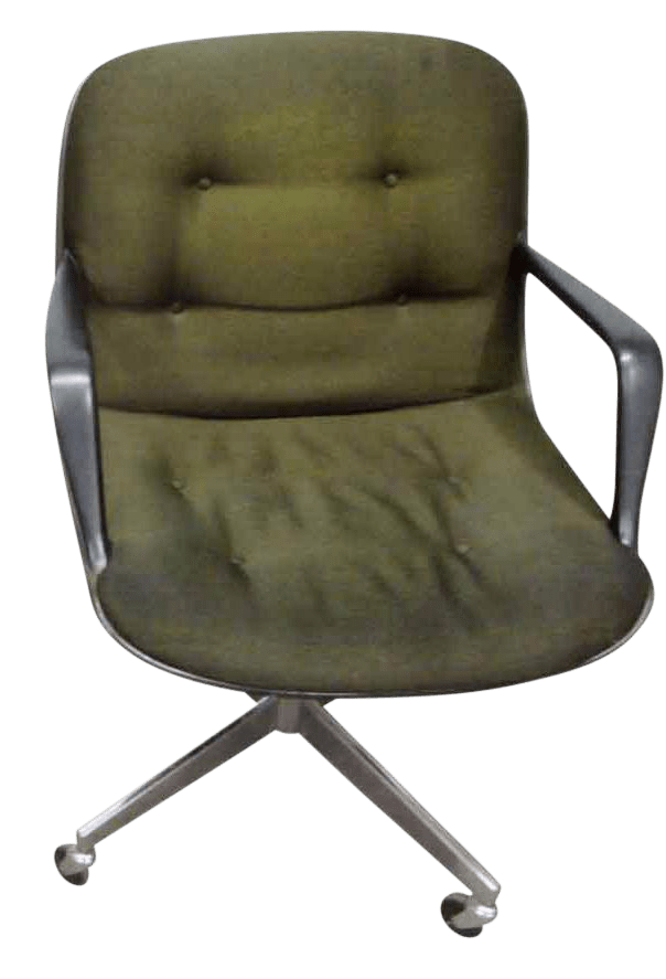 steelcase vintage chair elegant office chairs used chairish rolling
