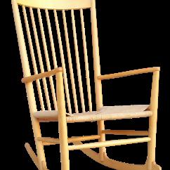 Hans Wegner Rocking Chair Oxo Tot Sprout Replacement Cushion Set Chairish J16 Beech Wood