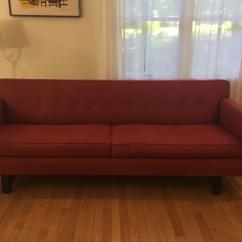 Andre Sofa Ashley Furniture Darcy Room Board Chairish Contemporary For Sale Image 3 Of 12