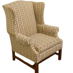Ethan Allen Wingback Chairs Chair Cover Rentals Houston Tx Late 20th Century Vintage Upholstered Armchair This Is A The Piece Was Made In