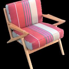 Poul Jensen Z Chair Replica Reclining Beach Mid Century Modern Danish Chairish
