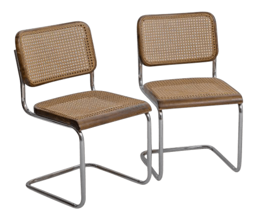 breuer chairs for sale custom outdoor chair cushions covers gently used marcel furniture up to 50 off at chairish 1920 s vintage thonet b32 dining set of 2 or 4