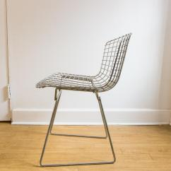 Bertoia Wire Chair Original Diy No Sew Dining Room Covers Harry Chairish With Stainless Steel Wires And Frame In Absolutely Beautiful Condition