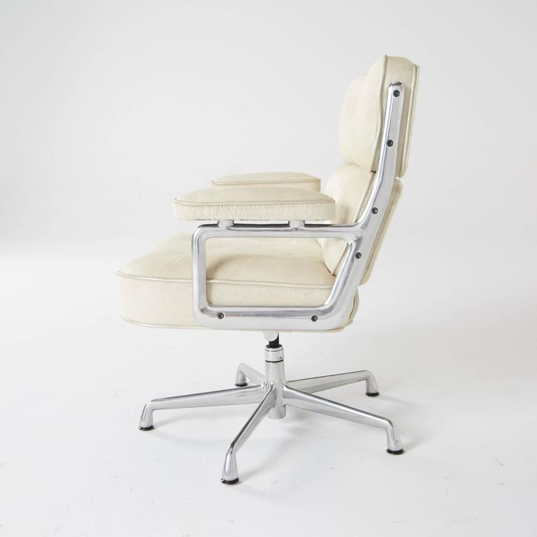 hair on hide office chair slings for pvc chairs time life lobby by eames herman miller sale
