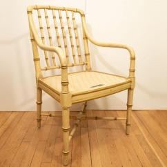 Bamboo Chairs For Sale Modern Reclining Uk Superb Pair Of Green Decaso In New York Image 6 11