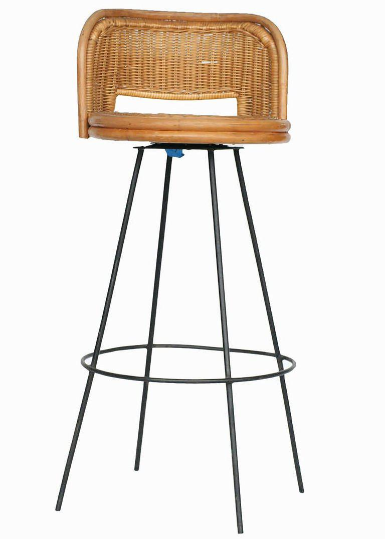 seng chicago chair ergonomic operator incredible of swivel wicker and iron bar stools pair rattan metal stool with seat backs this delicate