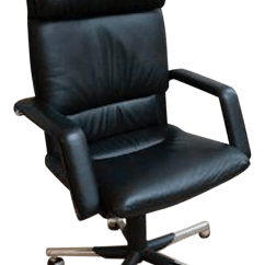 Vitra Office Chair Price Stool Green Mario Bellini Executive Black Leather Chairish For Sale