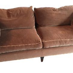 Vintage Leather Sofa Company Tempurpedic Bed Mattress Used Baker Furniture Standard Sofas Chairish Madison Taupe Mohair