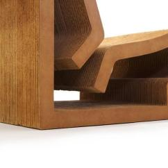 Frank Gehry Chair Outside Chairs For Table Superb Rare Original Easy Edges Cardboard Contour Sale Image 10
