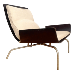 French Provincial Adele Occasional Chair Futon Mattress Cover Vintage Used Black Accent Chairs Chairish 1970s Modern Italian