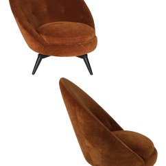 Egg Chairs For Sale Purple Dining Chair Excellent Pair Of Royere Style Swivel Decaso