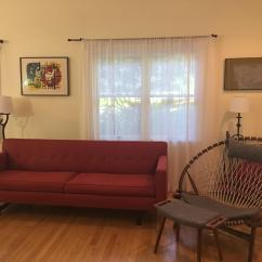 Andre Sofa 3 Piece Microfiber Recliner Sectional Room Board Chairish We Are Selling Our It S In Near Perfect Condition Currently Sells