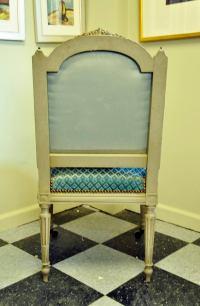 Louis XVI Velvet Chairs - Set of 4 | Chairish