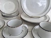 English Stonehenge Midwinter Dinnerware - Set of 4 | Chairish