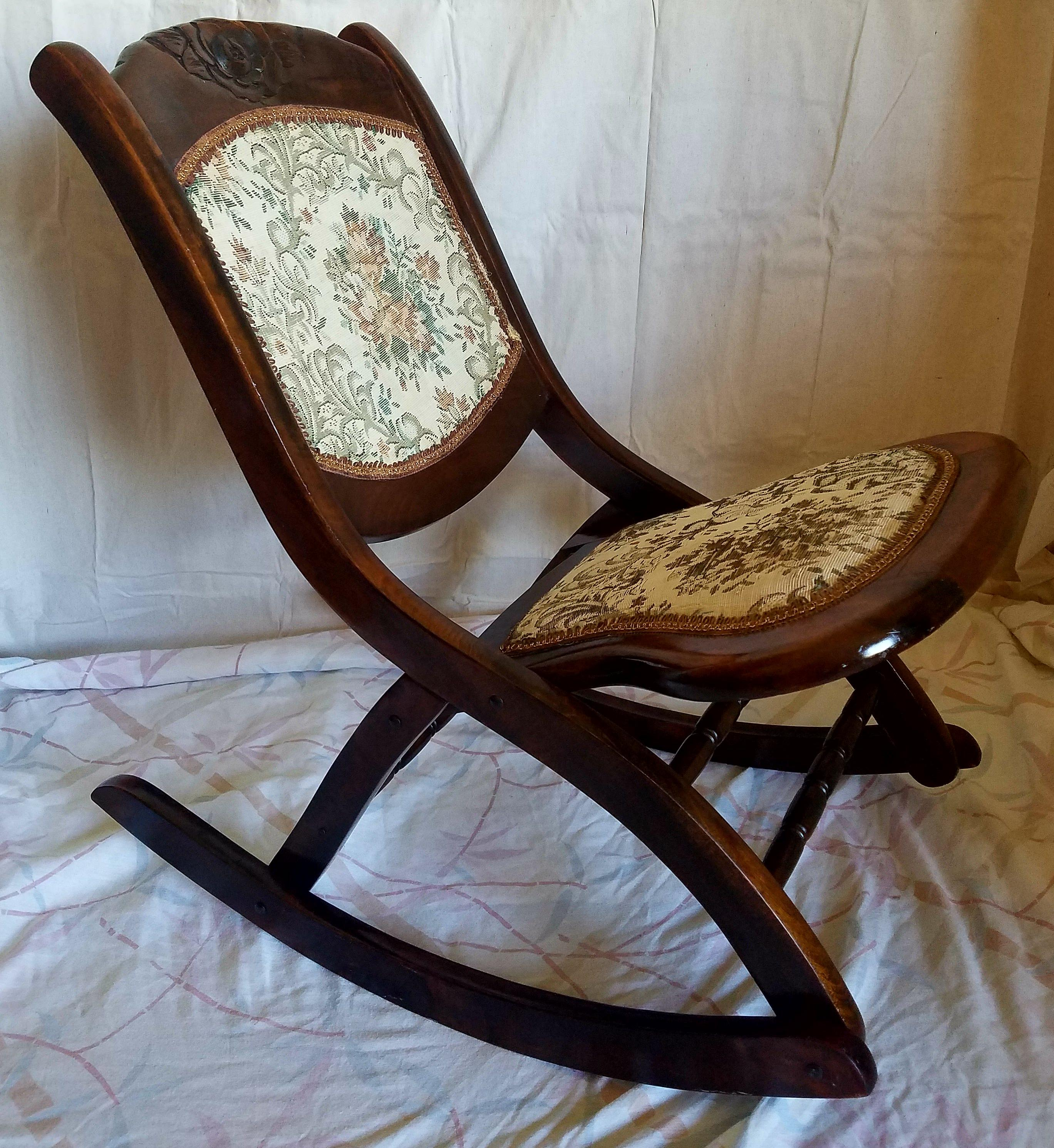 toddler wooden rocking chair patterns for christmas covers antique folding | furniture