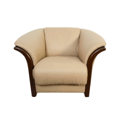 Stressless Chair Sale Quirky Bedroom Mid Century Modern Leather Ekornes Chairish For