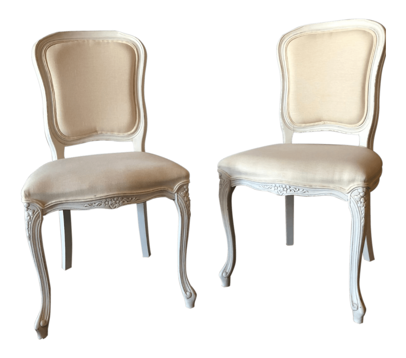 Vanity Chairs Italian Painted And Upholstered Vanity Chairs A Pair