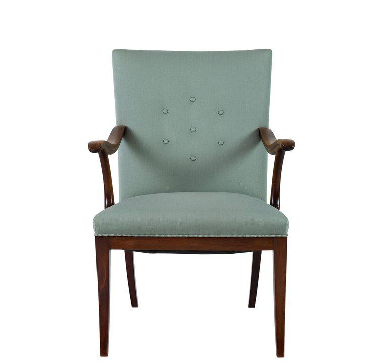 turquoise lounge chair eames style office exquisite frits henningsen decaso mid century modern for sale image 3 of 8
