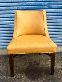 Contemporary Yellow Dining Chairs - Set of 6 | Chairish