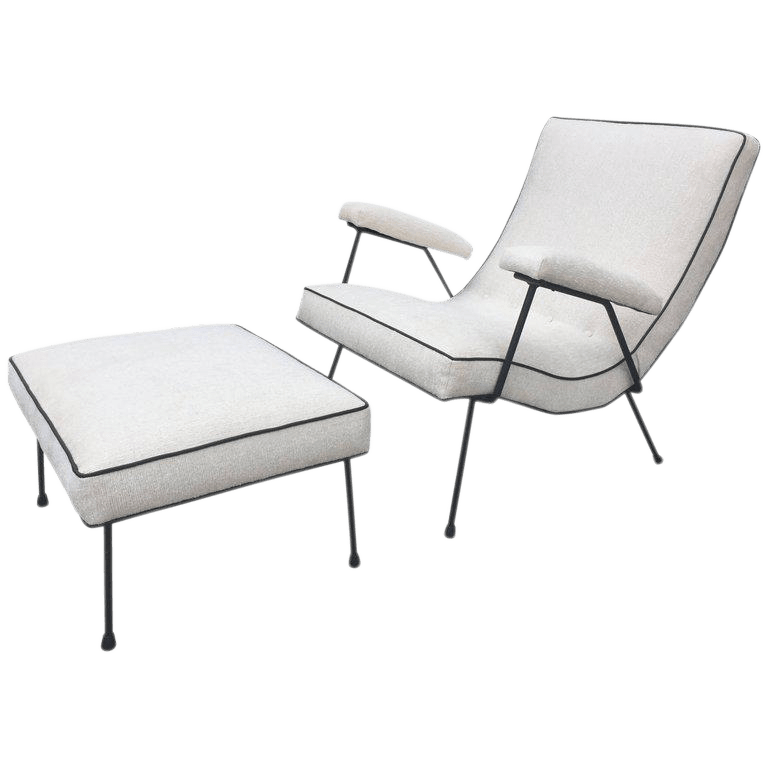 adrian pearsall lounge chair overstock office chairs superior vintage decaso great curves and scale on this comfortable has a chic look