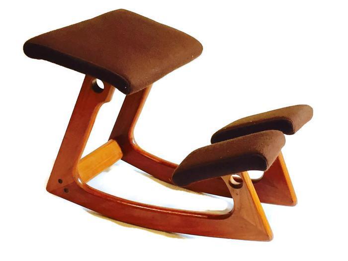 ergonomic chair norway homemade sex balans norwegian mid century teak rocker chairish boho chic for sale image 3 of