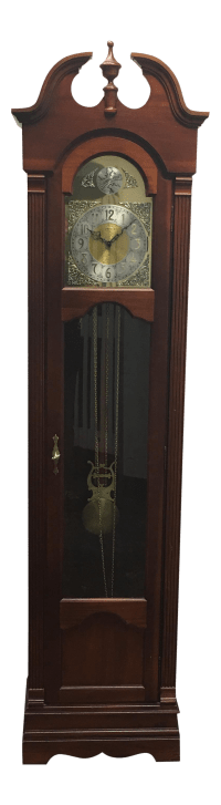 Ridgeway Tempus Fugit Colonial Style Grandfather Clock ...