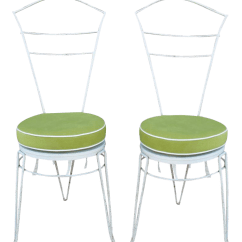 Wrought Iron Dining Chairs Ergonomic Chair And Desk Exceptional Set Of Eight By Ferrabini White For Sale Image 8