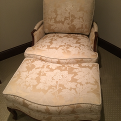 Bergere Chairs For Sale Painted Kids Table And Ethan Allen Chair With Ottoman | Chairish
