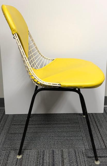 mid century modern wire chair red nwpa beer herman miller eames yellow bikini