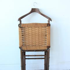 Mens Valet Chair Banana Rocker Cover Vintage Mid Century Faux Bamboo Men S Chairish For Sale Image 5