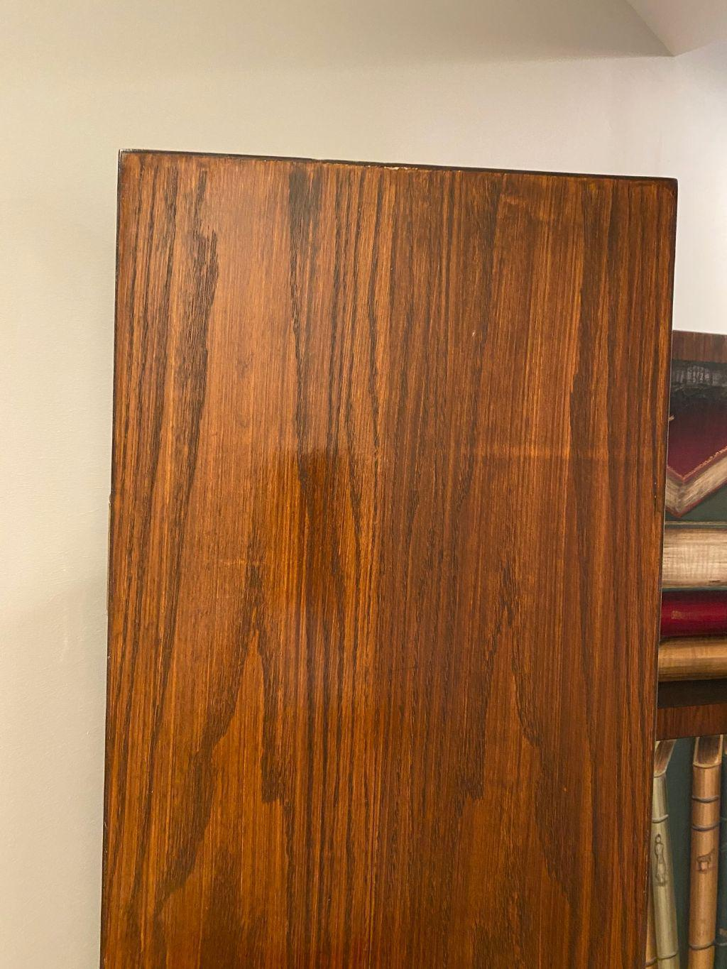 Late 20th Century Solid Wood Library Bookshelf Room