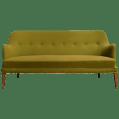 Sofas In Atlanta Costco Uk Vintage Used Chairish Mid Century Scandinavian Modern Green Tweed Sofa The Style Of Carl Malmsten For Sale