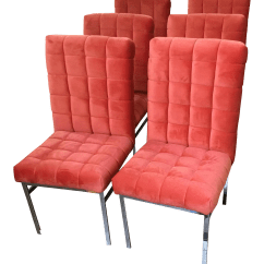 Used Chairs For Sale Two Seat Canopy Swing Vintage Dining Chairish Pace Mid Century Modern Set Of 6