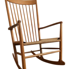 Hans Wegner Rocking Chair Accessories For Lower Back Pain Danish Mid Century Modern J16 Chairish Sale