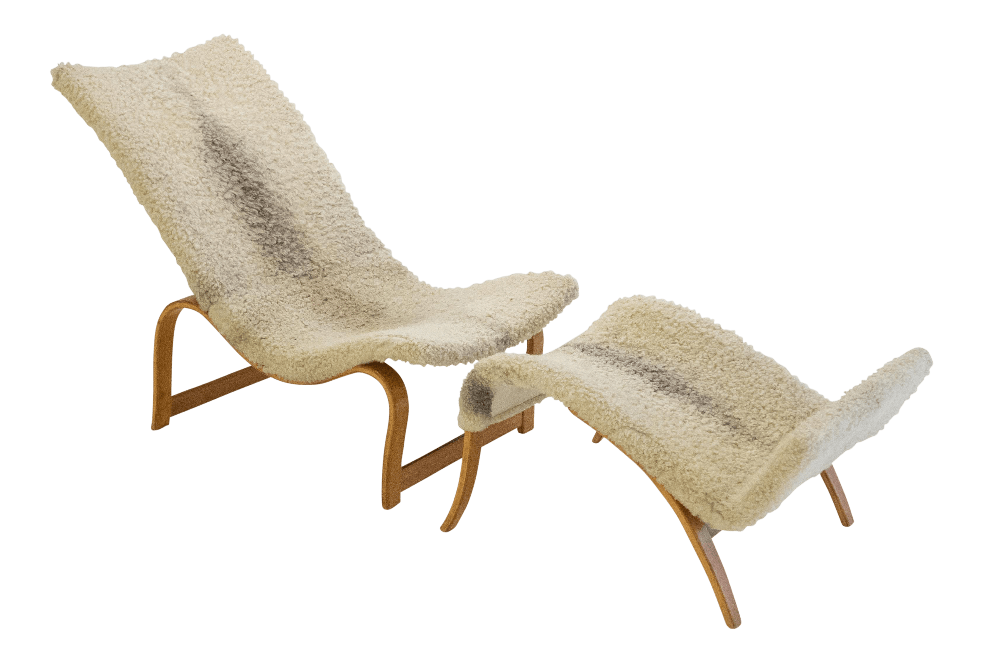 easy chairs with footrests tempur pedic chair luxury bruno mathsson model 36 footrest decaso for sale
