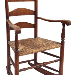 Antique Wooden Rocking Chairs Chair Cover Rentals Peterborough Ontario Vintage Used For Sale Chairish Farmhouse With Rush Seat