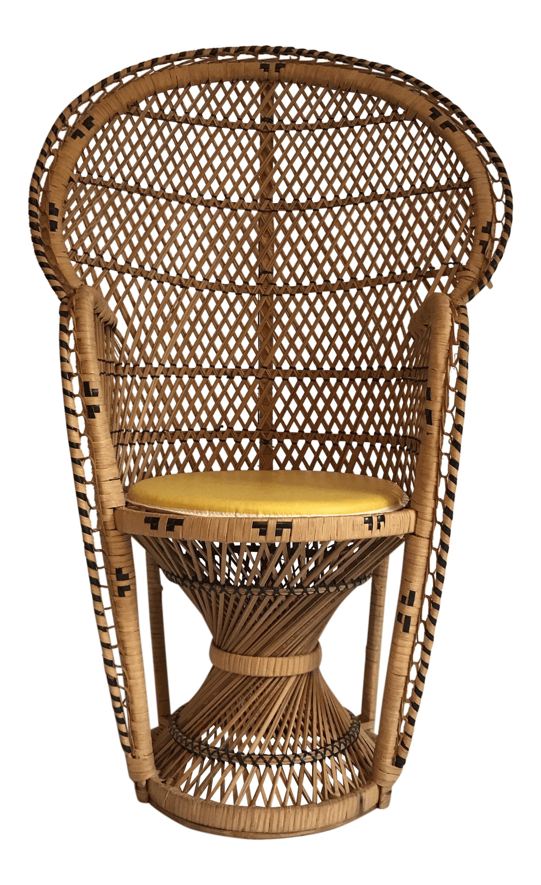 vintage peacock chair graco high duodiner child size chairish for sale