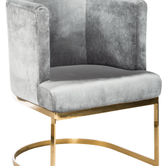 Gold Dining Chairs Purple Wingback Chair Contemporary Circular Gray Velvet Chairish For Sale Image 4