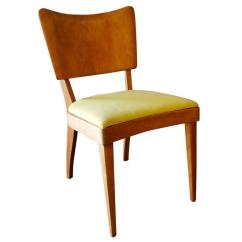 Heywood Wakefield Dogbone Chairs Folding Chaise Lounge Chair Walmart High End Closed Stingray Dining Side Set Mid Century Modern Table And Four The
