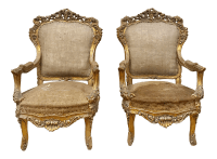 Vintage & Used Louis XV Bergere Chairs
