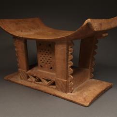 Stool Chair Ghana Ergonomic Toronto Ashanti Chairish For Sale Image 4 Of 6