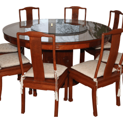 Chinese Rosewood Dining Table And Chairs Pier 1 Wicker Chair Cushions 1950s Set 9 Pieces Chairish For Sale