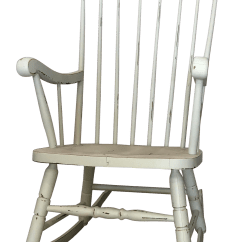 White Rocking Chairs For Sale King Throne Chair Prop Vintage Chairish