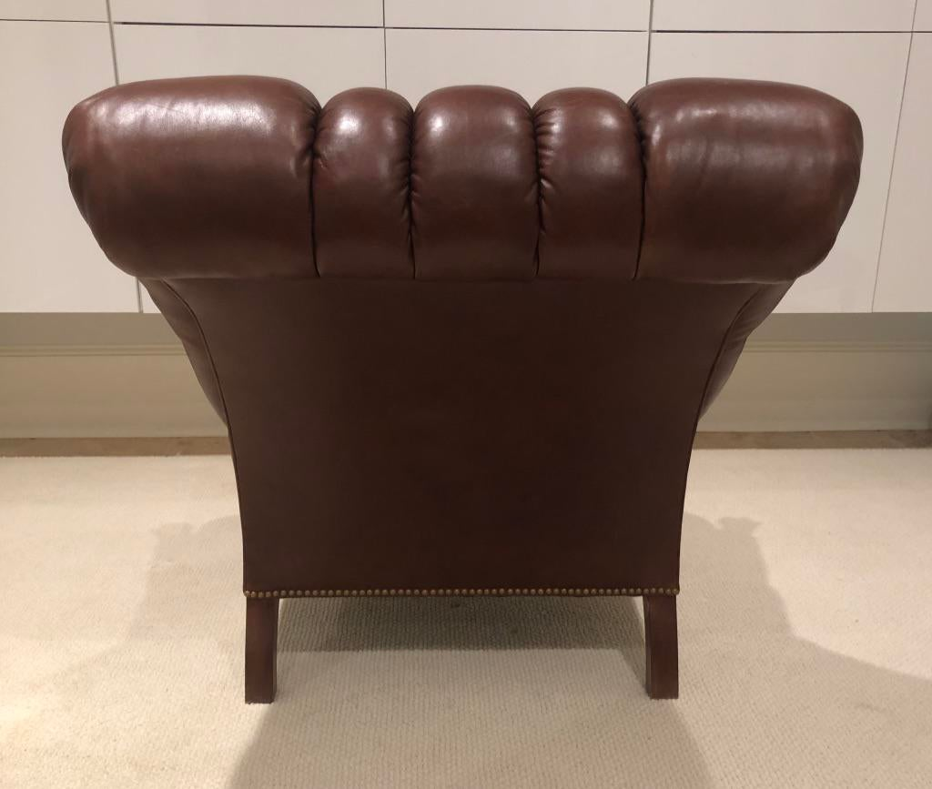 stickley leopold chair for sale mahogany dining room chairs modern leather ottoman chairish l j g inc