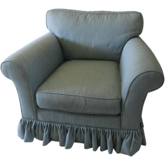 Oversized Upholstered Chair Stryker Stair Manual Modern Club Chairish For Sale