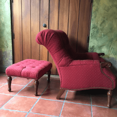 Stickley Leopold Chair For Sale Dx Racer S Style Red Tufted Ottoman Chairish American Classical Image 3 Of